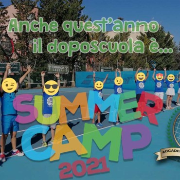 Tennis Summer Camp 2021