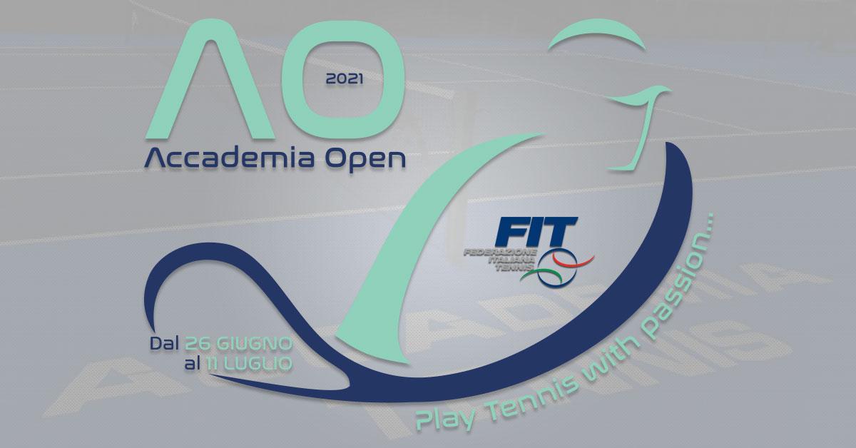 Accademia Open 2021 – Iscrizioni